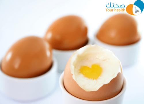 البيض والكوليسترول